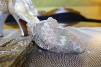 4 antique flapper shoes 1929