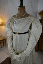 3 antique empire dress 1815