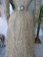 32 antique reception gown 1901
