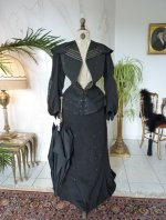 3 antique walking gown 1901