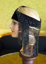 11 antique flapper headpice 1920