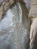 15 antique evening gown Worth 1894