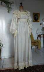 2 antique negligee 1900