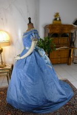 37 antique ball gown 1864
