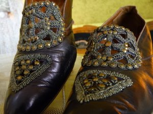 antique shoes 1912