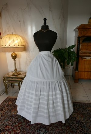 antique petticoat 1862