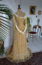 40 antique evening dress 1910