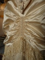 11 antique bustle wedding gown 1879