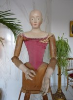 3 antique mannequin 1800
