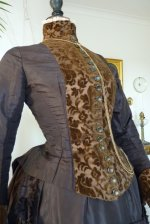 12 antique bustle gown