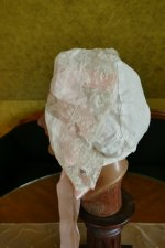 6 antique boudoir bonnet 1910