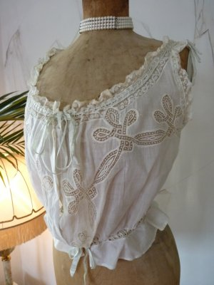 antique corset cover 1900