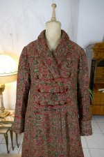 1 antique Mens dressing coat 1865