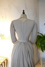 21 antique dress Redfern 1901