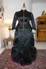 14 antique Pingat bustle dress 1880