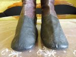 3 antique riding boots 1850