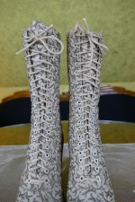 3 antique lace up boots 1895
