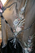 25 antique Gustave Beer gown 1906