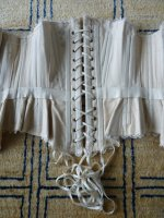 31 antique wedding corset 1880