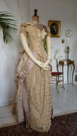 9 antique Ball gown 1880