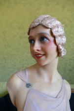 3 antique Pierre Imans wax mannequin 1920