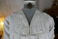 9 antique AMY Linker Jacket 1908