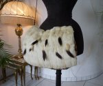 13 antique ermine cape