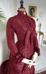 17 antique wedding gown 1878