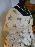 4 antique romantic period dress 1839