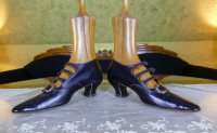 4 antique edwardian shoes 1901