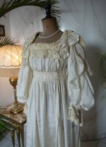 6 antique negligee 1900