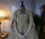 1 antique robe a la francaise 1770
