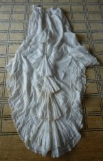 27 antique underskirt 1880