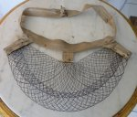 14 antique wire bustle pad