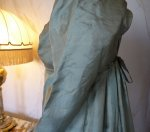 20 antique silk dress 1800