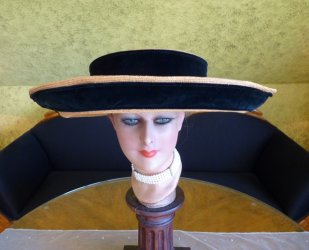 antique hat 1912 Cameron Titanic