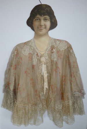 antique bed jacket