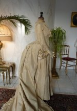 31 antique bridal dress 1877