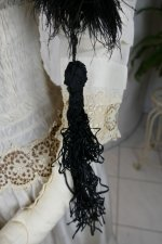 3 antique feather boa 1910