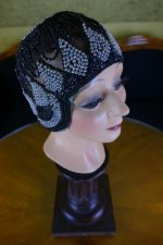 2 antique gage brothers cloche 1920s