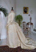 28 antique wedding gown 1874