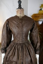 51 antique afternoon dress 1840