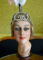 1 antique headpiece 1920