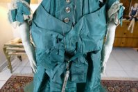 10 antique princess Bustle dress 1878