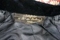 1 antique riding bodice 1890