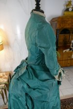 28 antique princess Bustle dress 1878