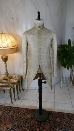 2 antique rococo wedding coat 1740
