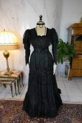 antique afternoon dress 1907