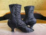 18 antique Facundo Garcia button boots 1879