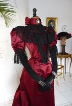 9 antique evening gown
